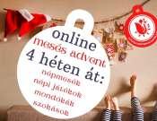 Online Mesés Advent 1-4. hét