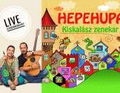 Hepehupa live gyerekkoncert - Kiskalász zenekar