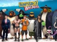 Bár kint még röpködnek a mínuszok, a moziban pingvinek szörföznek